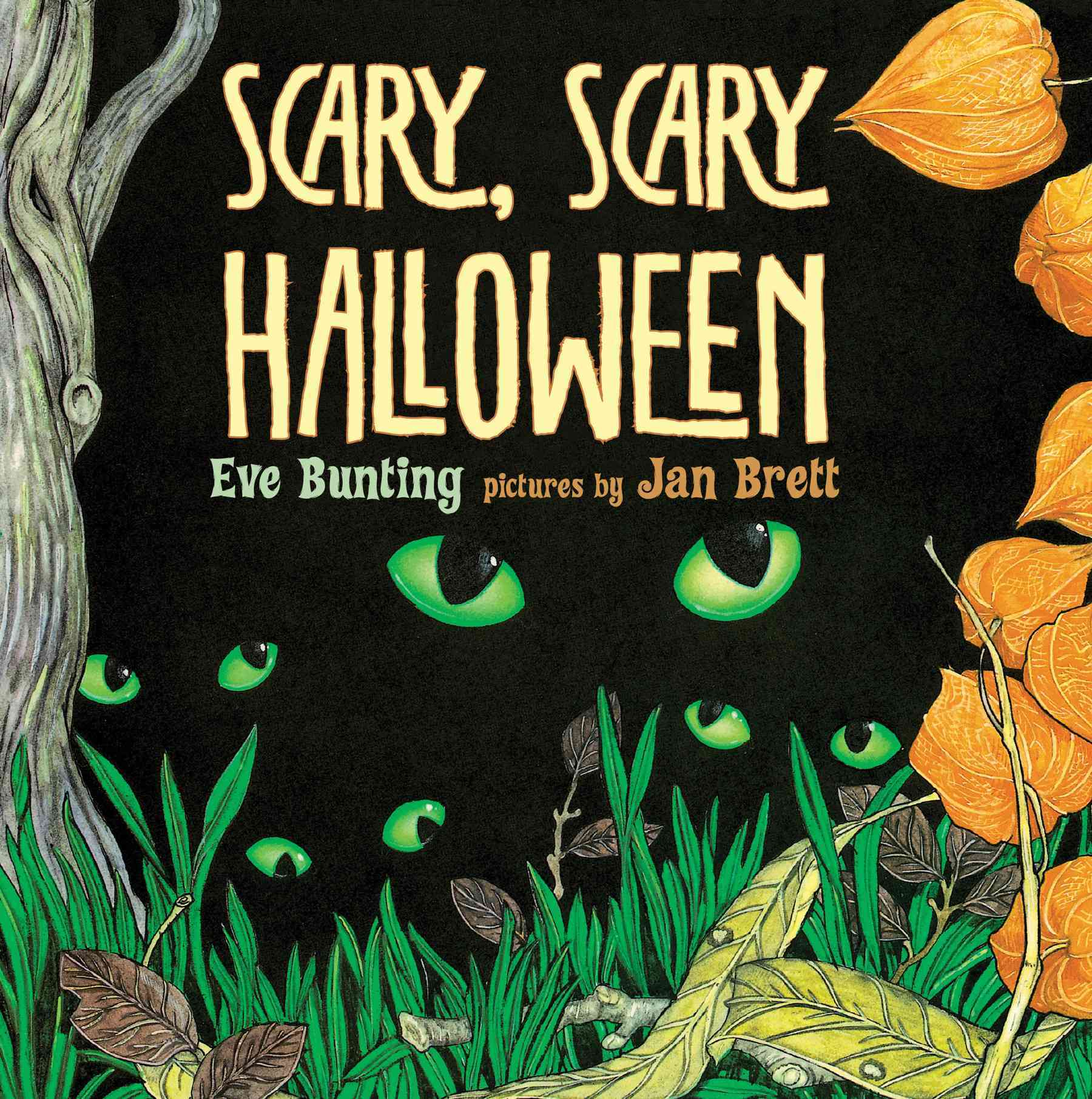 Scary, Scary Halloween By Bunting, Eve/ Brett, Jan (ILT)